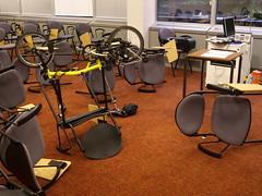 Autism Training (cycle.nut66) Tags: bike bicycle yellow training four olympus cycle folder zuiko autism folding overload brompton thirds evolt e510 sensory