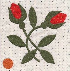 Poppy's Polka Dot Garden Block 1s
