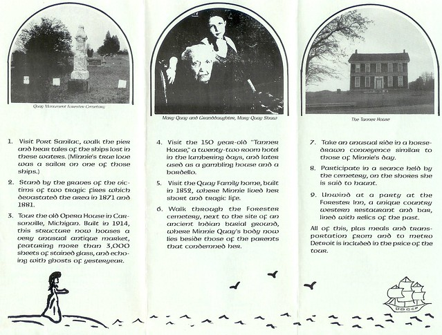 13 Hour Ghostly Tours Brochure front