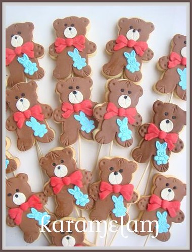 teddy bears day cookies