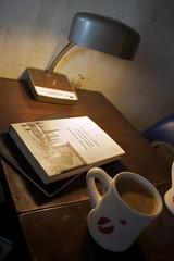 A form of regular meditation (seafaringwoman) Tags: coffee reading korea seoul americano hongdae coffeelab barbarademick nothingtoenvy