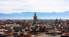The view from the Museum of Photography in Marrakech