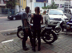 Motorcycle Club Indonesia on Durgatattoo  Tags  Old Horse Classic Ariel Bike Club Vintage Indonesia