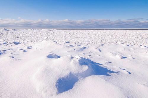 January lake