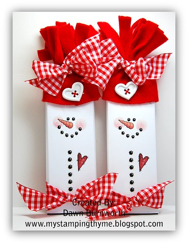 Snowmen Candybars