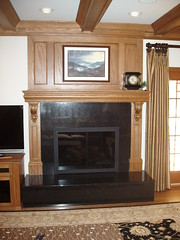 Roseys gas fireplace