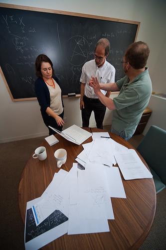 Mathematicians (DaveMosher) Tags: coffee geometry mathematics calculus chalkboard mathematicians trigonometry