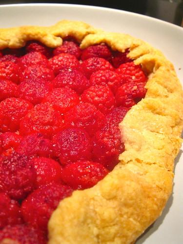 Singlish Swenglish Raspberry tart