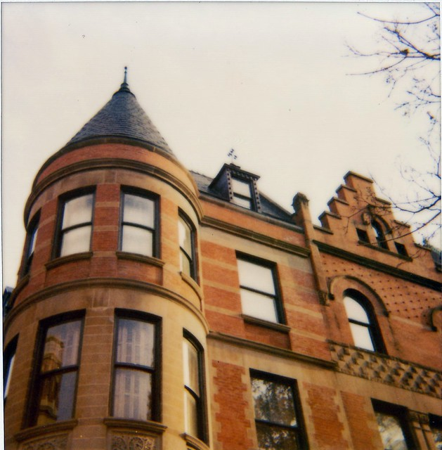 Royal Tenenbaums House Polaroid