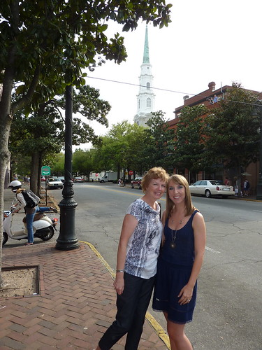 Mom and I in Savannah