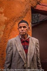 At Medina in Marrakech #19 (Tony Reynes) Tags: morning man morocco ara