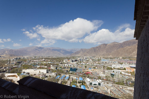 Lhasa, from the Potala