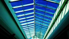 Bella Vista (Digasman) Tags: blue white azul branco flickr lumia nokia 1020 brasil brazil bahia glass vidro teto windown art arte symmetry ceiling architecture