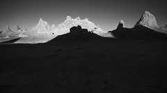 shadows (ffoster) Tags: tronapinnacles california searlesvalley landscape blackandwhite sigmaquattrodp0 frankfoster
