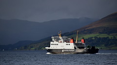 MV Argyle catching the Autumn Sun (Russardo) Tags: clyde scotland mv argyle basking sun calmac cal mac caledonian macbrayne ferry