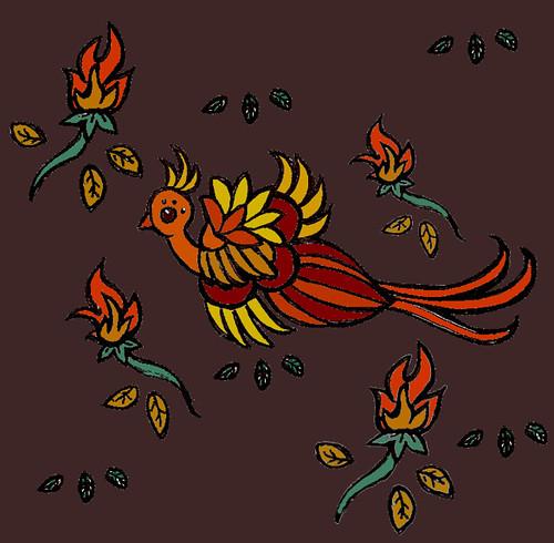 phoenix print color
