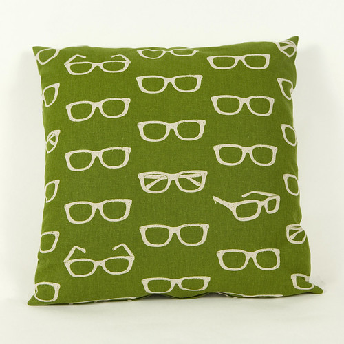 Echino Cushion Glasses Green