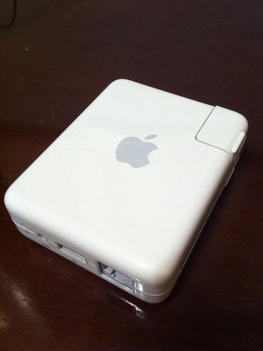 iPhone 4��AirMac Express��AirPlay