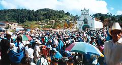 Mexické zastavení 3San Juan Chamula – Vesnice šamanů