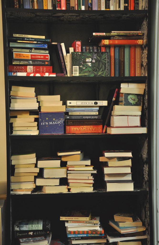 disorganised books