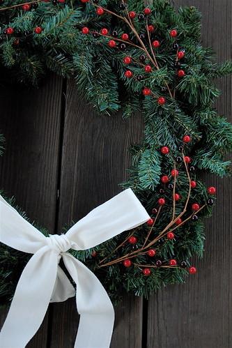 christmas wreath tutorial