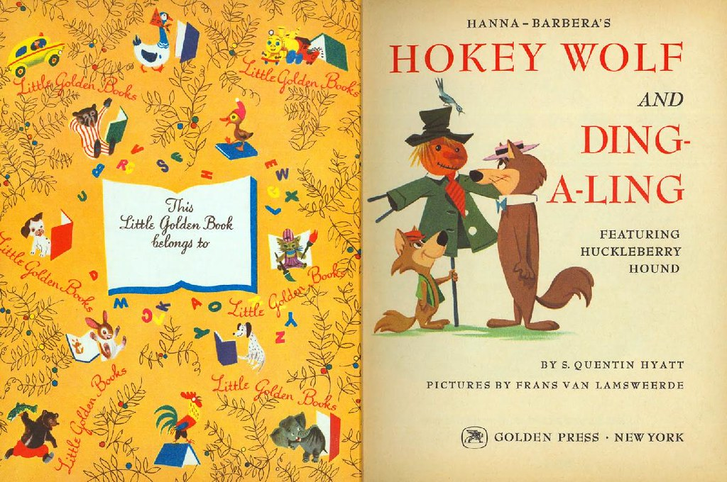 Hokey Wolf & Ding-a-Ling Featuring Huckleberry Hound002
