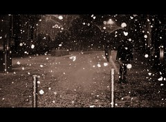 first snowfall of the season (the last name left) Tags: november snow stirling friday friarst