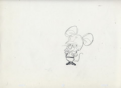 AUTOCAT & MOTOR MOUSE Animation Model Drawings 1960s (Nemo Academy) Tags: original hanna drawing barbera