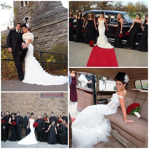 Real Bridal Styles Rocker Bride: Dina and Joseph