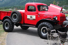 '49 Power Wagon (stevencook) Tags: dodge mopar wyoming 1949 2010 tetonvillage powerwagon silverauctions stevencook stevencookrealtor