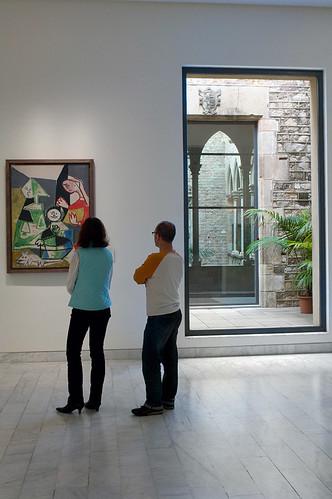 Museu Picasso - Gotico-contemporaneo