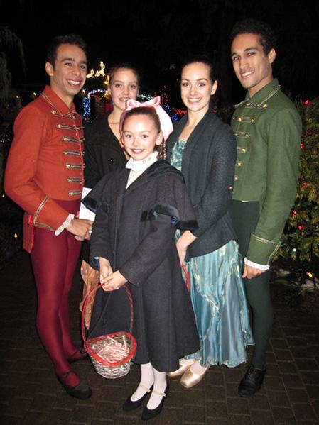 Goh Ballet dancers