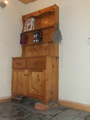 Kitchen Dresser on Four Bricks