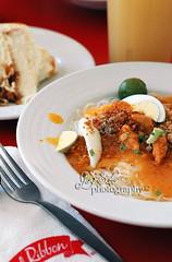 Palabok (joy_sale) Tags: november food asian dish redribbon snack filipino noodle eats 2010 palabok merie