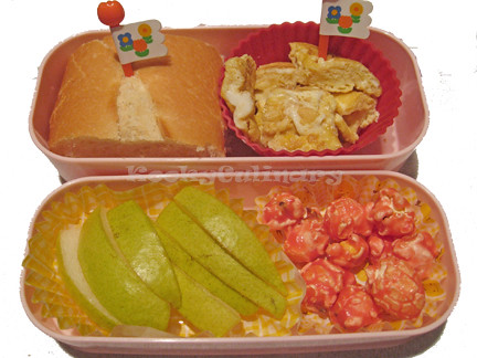 Kids Bento #119 - Four corners bento