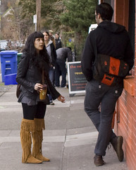 Fringed Boots 6647 (eyepiphany) Tags: fashion boots trends portlandoregon stumptown portlandfashion fringeboots portlandcasual portlandcazl