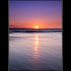 (David Panevin) Tags: longexposure morning sky bw sun seascape beach water clouds sunrise landscape waves australia olympus tasmania e3 cremorne  sigma1020mmf456exdchsm southarm bwnd davidpanevin