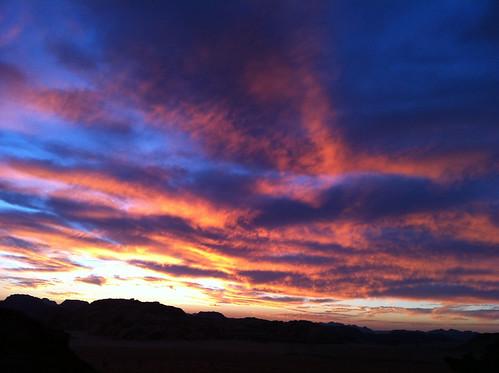 Desert sky.