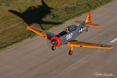 AT-6 Texan (Champion Air Photos) Tags: texan at6 t6 airtoair snj northamerican