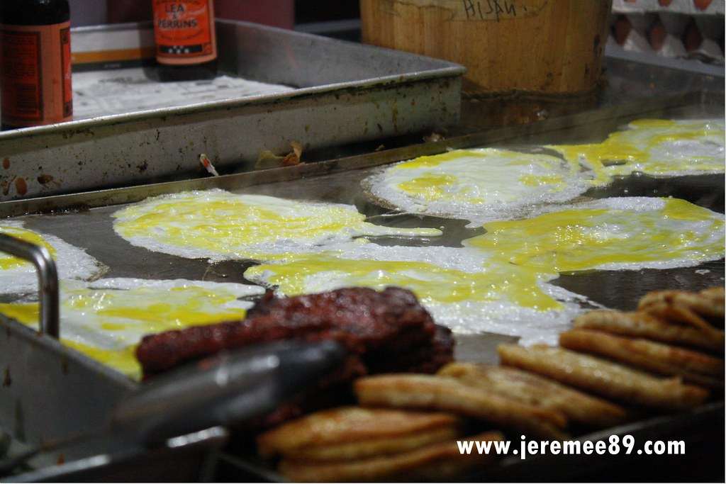 Pos Burger Jelutong - Making In Progress