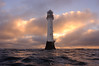 Winter sunrise at the Bell Rock lighthouse (12 miles off of Arbroath), Angus, Scotland (iancowe) Tags: winter lighthouse robert rock clouds sunrise dawn scotland bell fife angus scottish stevenson arbroath northernlighthouseboard nlb bellrocklighthouse wbnawgbsct