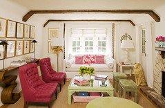 krista ewart (mscott218) Tags: pink flowers windows red favorite white green art lamp mirror design interiors gallery floor designer interior shades bamboo ceiling livingroom faux curtains krista walls chinoiserie interiordesign eclectic mantle tablescape drapery ewart