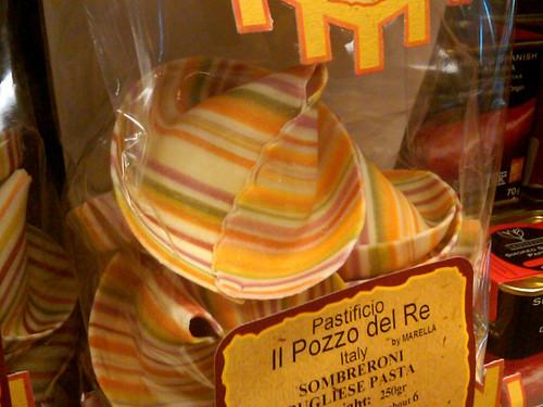 Sombreroni pasta