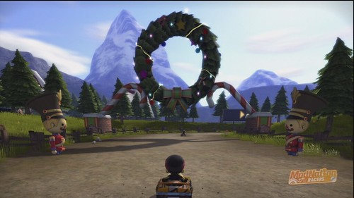 ModNation Racers PS3:  Holiday