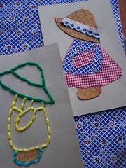 Nova oficina! New kit! (Agulha No Pica) Tags: portugal ribbons embroidery crafts cork cardboard fabrics carto ls bordado embroider colagens cortia madeinportugal gales bordar lacingcards embroiderykit childcrafts embroiderykits kitsdebordados