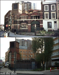 City Road station`1967-2010 (roll the dice) Tags: old uk travel london tower art history station angel underground lost closed transport tube tunnel disused oyster 1922 canopy islington shard clerkenwell demolished stlukes kestrel n1 ec1 skycraper oldandnew roundel tfl eyesore kingsquare pastandpresent cityroad londonist bygone hereandnow rahere bygonehistory