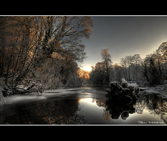 Jubilee // River Eden Appleby (WittWooPhoto) Tags: winter snow water beautiful landscape frozen interesting scenery photographer freezing shades explore cumbria excellent serene karma frozenwater appleby thebigchill pleasing naturepoetry explorethis nikond300 snow2010 wwwwitterickcom witwoophotography