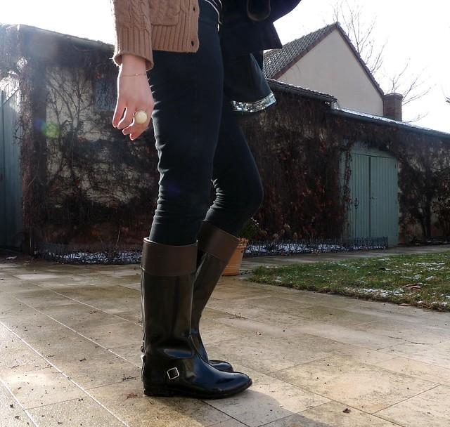 J\u0027ai trouvé la parade à tout ces soucis de souliers avec ma nouvelle paire  de bottes de pluie cavalières Be Only