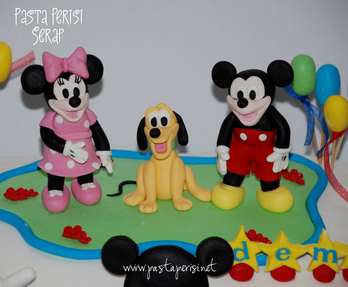 DEMİR MİCKEY MOUSE CLUP HOUSE PASTASI