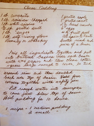 Auntie Ev's recipe